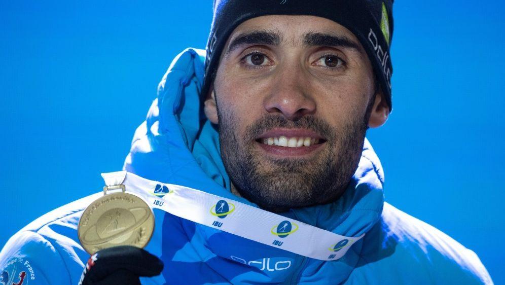 Martin Fourcade beendet seine Karriere - Bildquelle: AFPSIDMARCO BERTORELLO