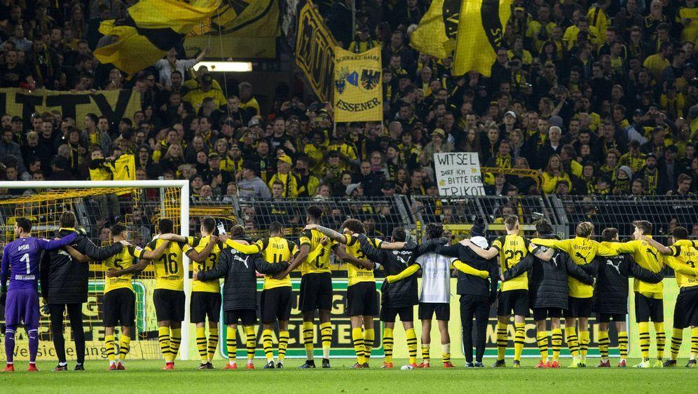 Ein Heimspiel von Borussia Dortmund bald ohne die gelbe Wand? - Bildquelle: imago/Nordphoto