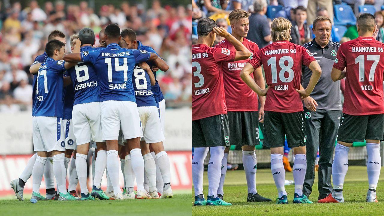 Karlsruher SC – Hannover 96 (So. 15:30 Uhr) - Bildquelle: imago