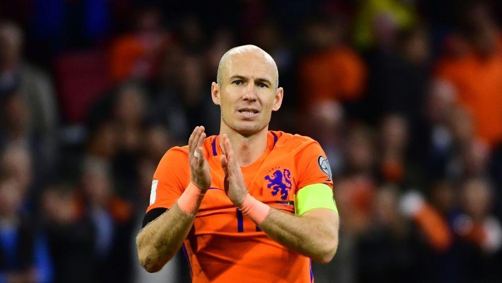 Comeback nicht ausgeschlossen: Arjen Robben - Bildquelle: AFPSIDEMMANUEL DUNAND