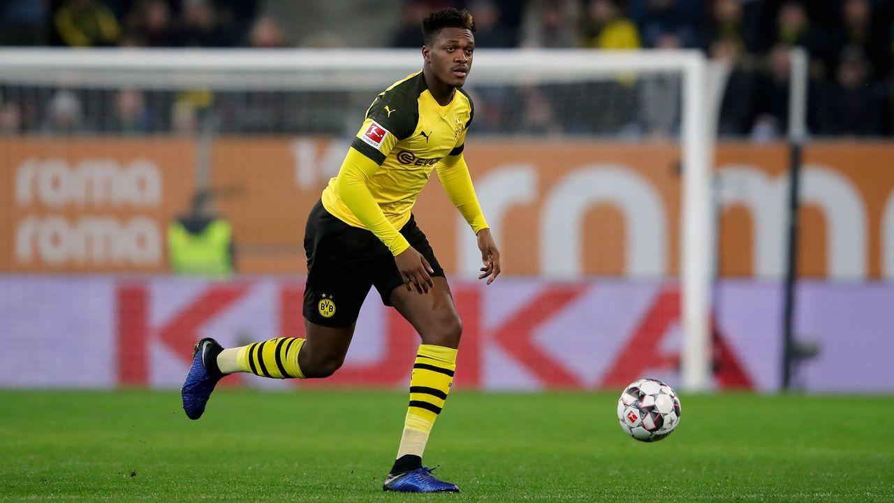 Platz 1 - Dan-Axel Zagadou (Borussia Dortmund) - Bildquelle: 2019 Getty Images