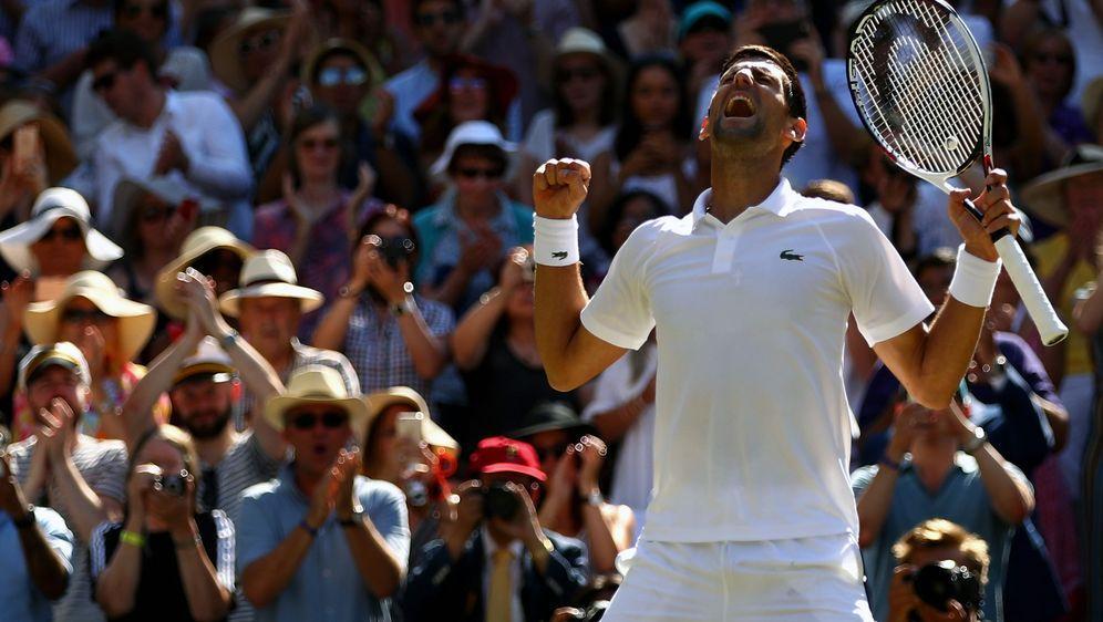 Novak Djokovic benötigte im Finale gegen Kevin Anderson nur drei Sätze auf d... - Bildquelle: 2018 Getty Images