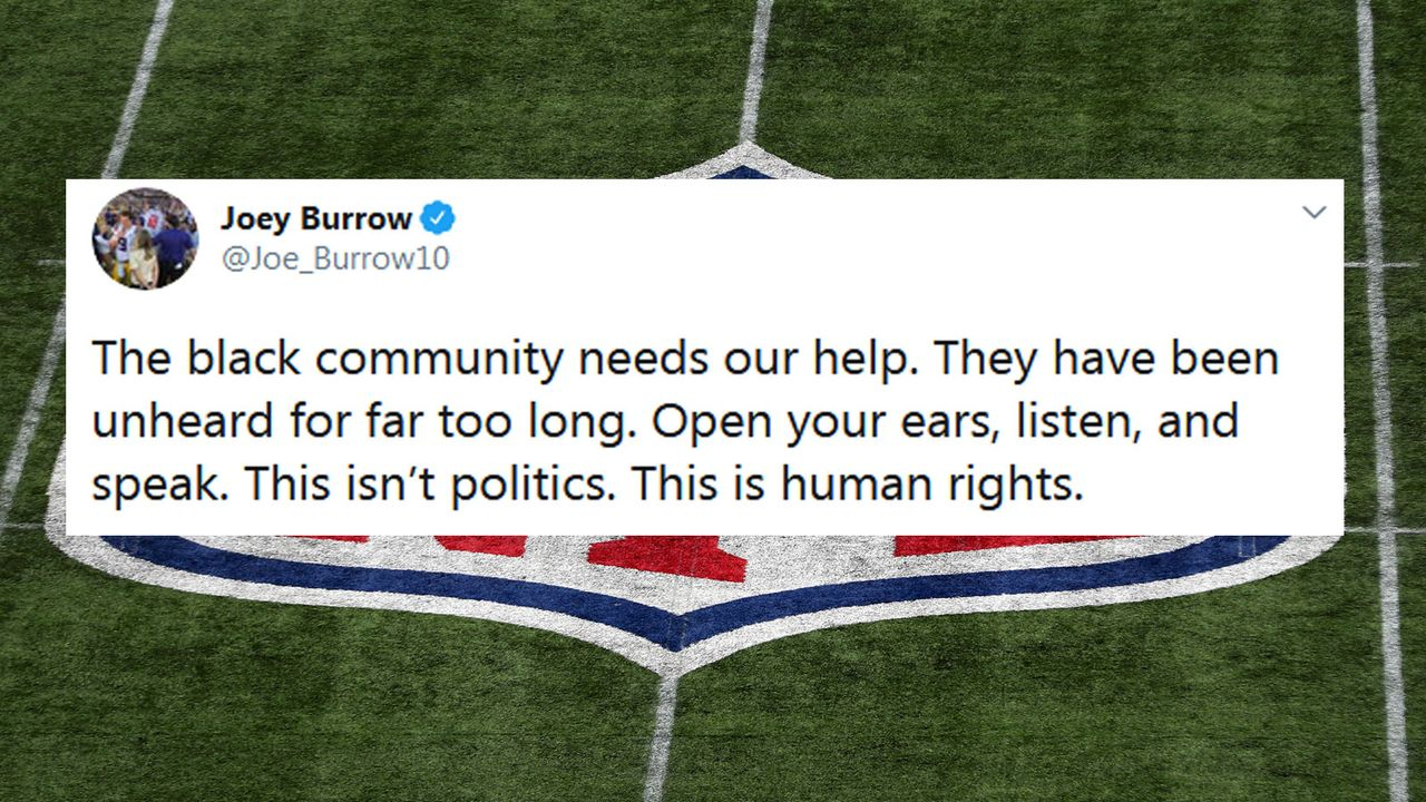 Joe Burrow - Bildquelle: Twitter/Joe_Burrow10