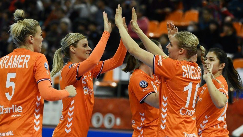 Niederländerinnen treffen im Finale auf Spanien - Bildquelle: AFPSIDCHARLY TRIBALLEAU
