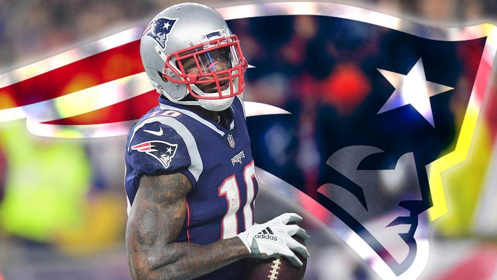 Für die Patriots wieder auf dem Platz: Receiver Josh Gordon - Bildquelle: Getty Images