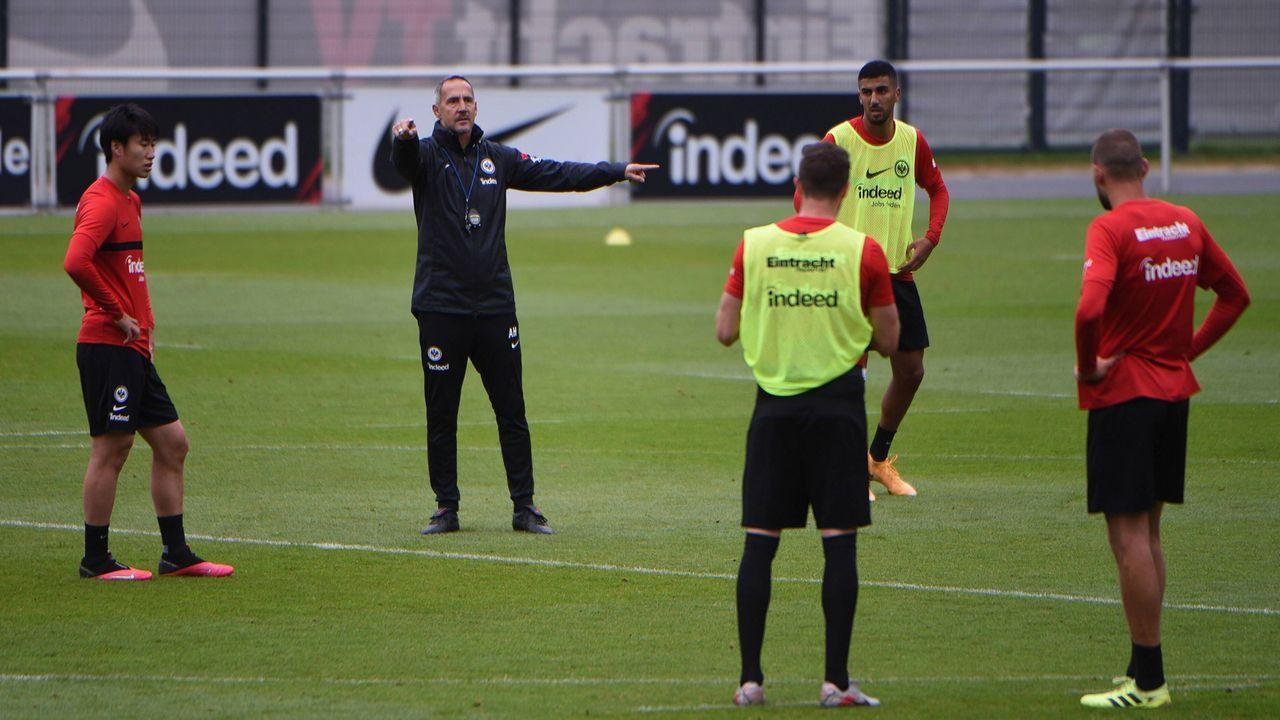 Die Eintracht ist ausgeruht - Bildquelle: imago images/Hartenfelser