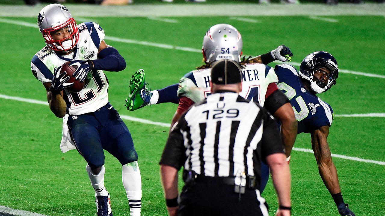 Malcolm Butler macht sich unsterblich (Super Bowl XLIX) - Bildquelle: 2015 Getty Images