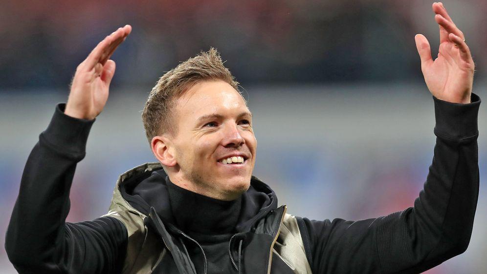 Seit Saisonbeginn 2019/20 Trainer in Leipzig: Julian Nagelsmann. - Bildquelle: getty