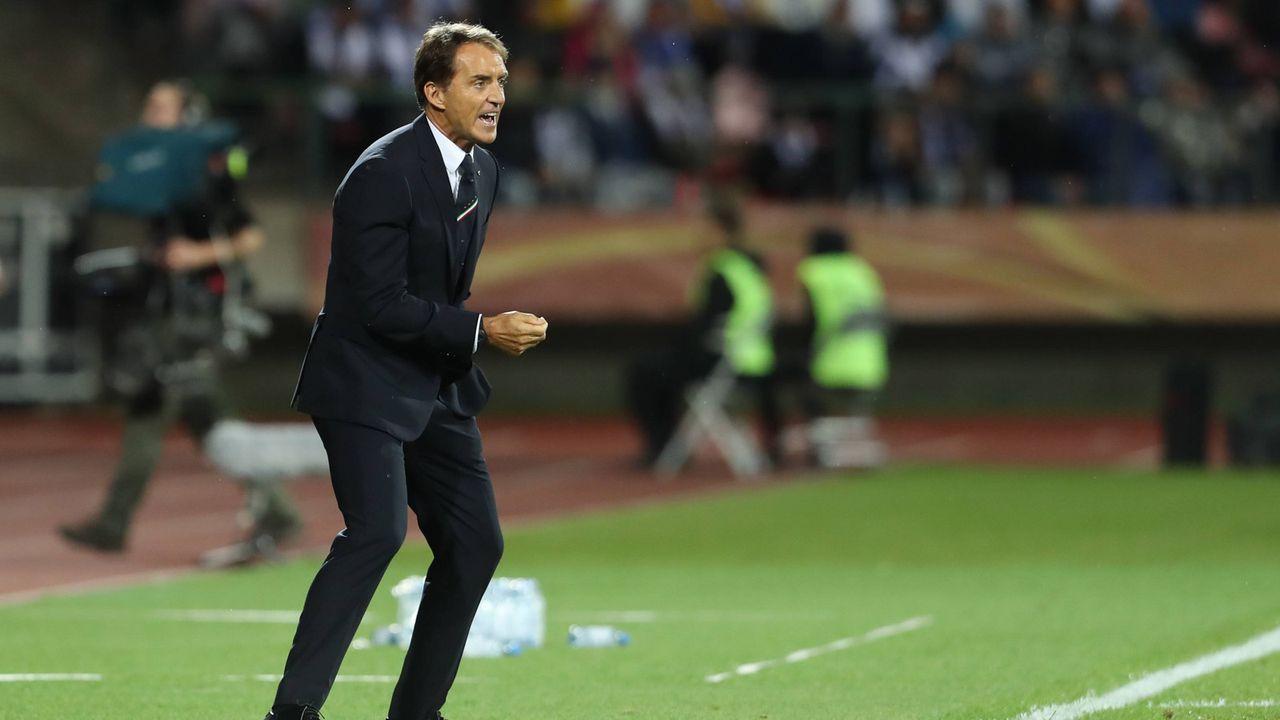 Platz 7: Roberto Mancini (Italienische Nationalmannschaft) - Bildquelle: imago images / Icon SMI