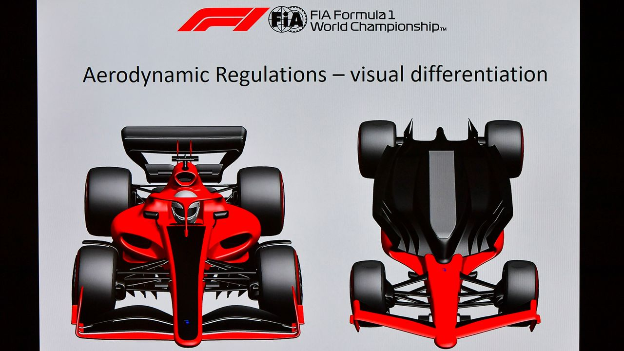 Neues Aerodynamik-Konzept - Bildquelle: imago images/Motorsport Images