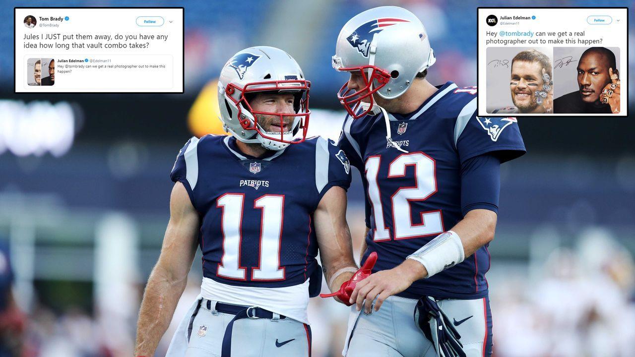 Edelman will Legendenfoto - Bradys Safe ist aber schon zu - Bildquelle: getty ; twitter