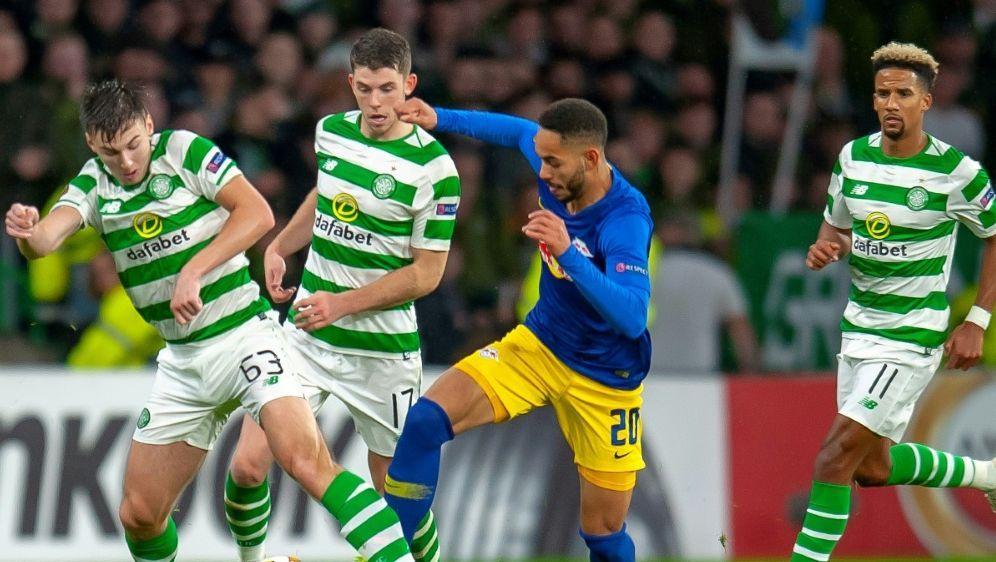 RB Leipzig unterliegt bei Celtic Glasgow mit 1:2 - Bildquelle: FIROFIROSIDfiro SportphotoPSI