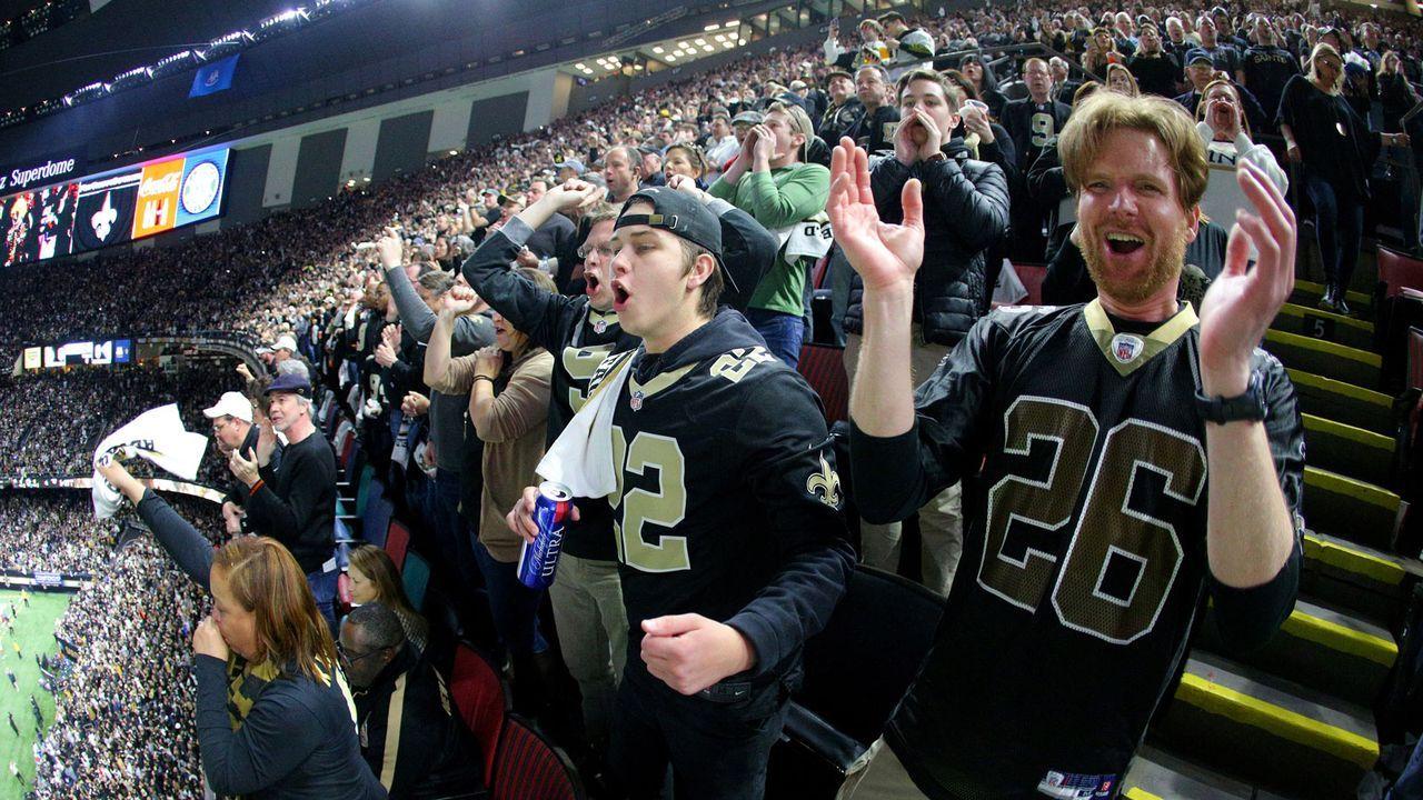 8. New Orleans Saints - Bildquelle: 2019 Getty Images