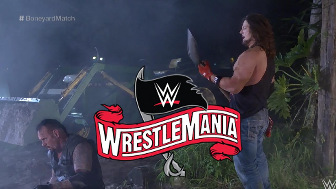 WrestleMania 36: So liefen die Matches am ersten Tag des Mega-Events - Bildquelle: WWE