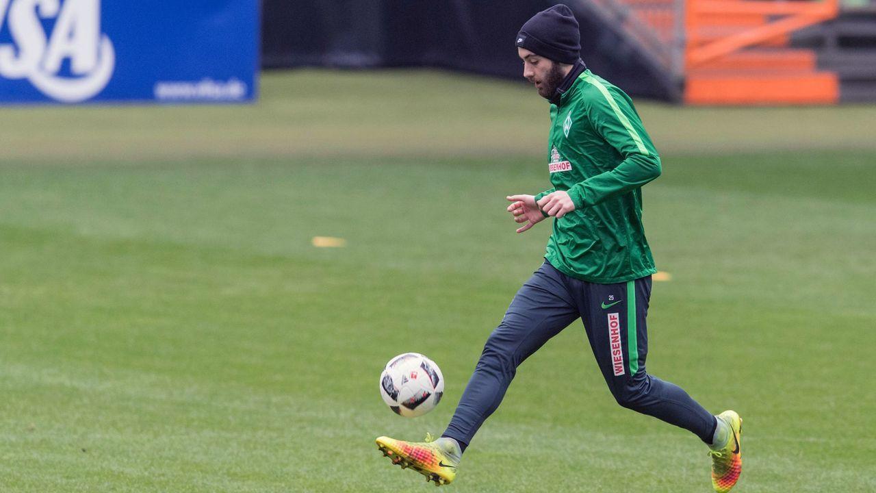 Thanos Petsos (SV Werder Bremen) - Bildquelle: imago/Nordphoto