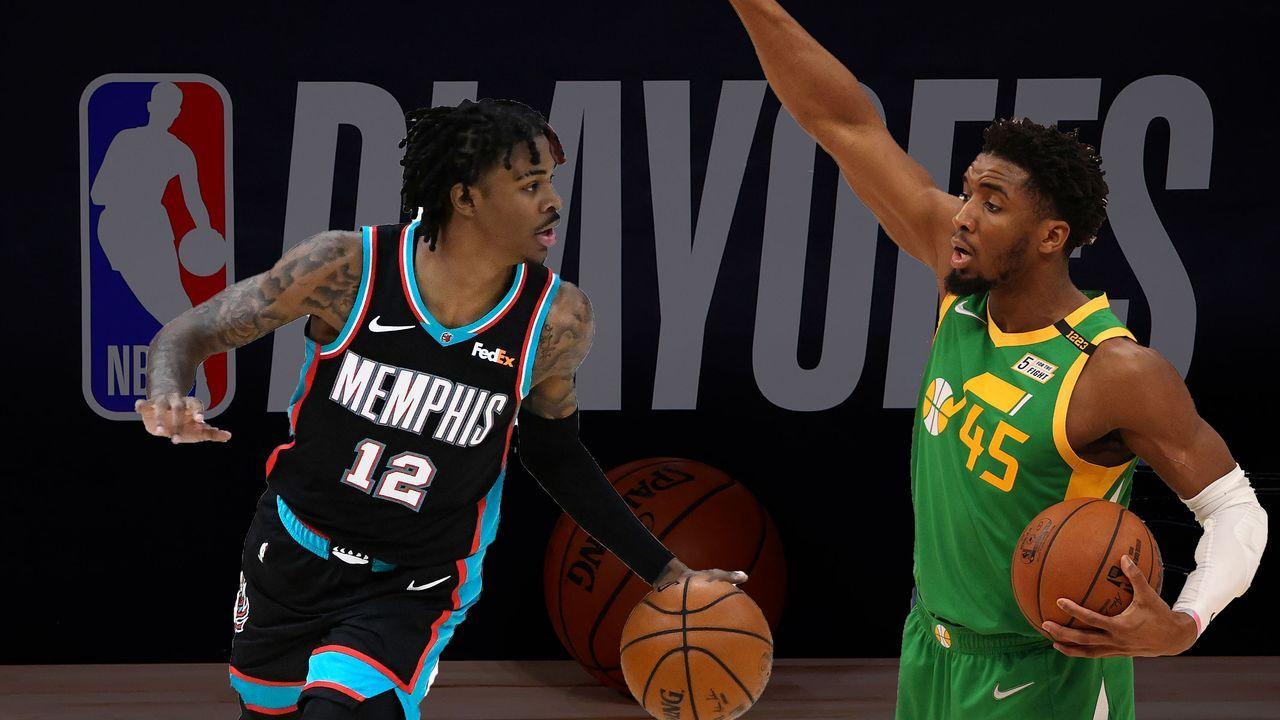 Memphis Grizzlies (8) vs. Utah Jazz (1) - Bildquelle: 2020 Getty Images