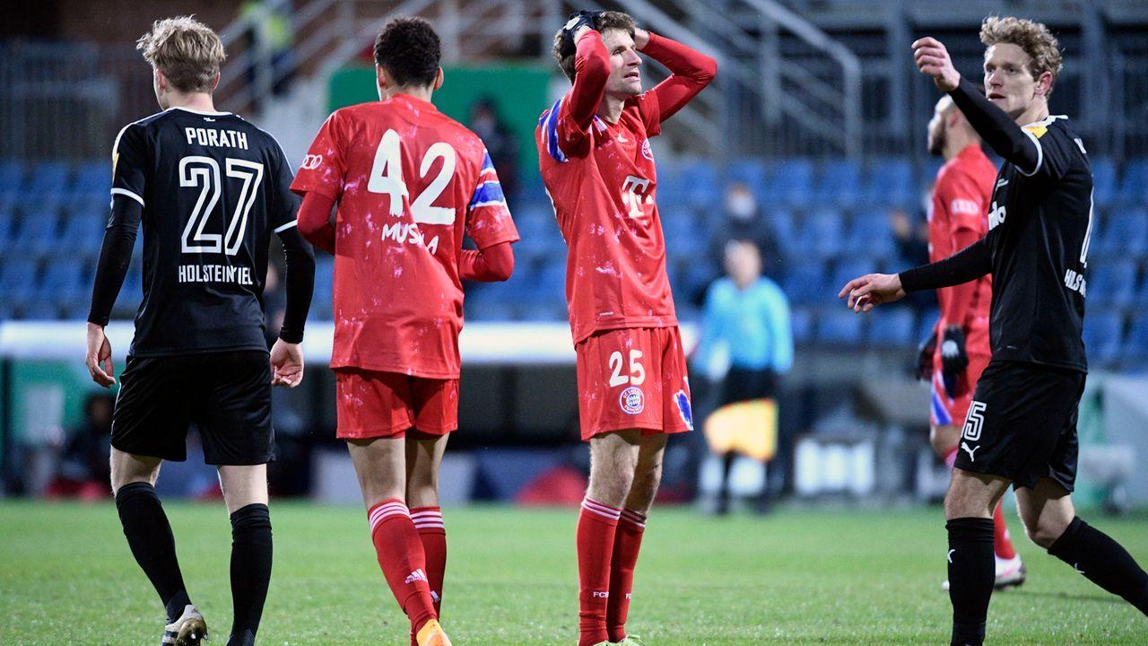 Triple-Traum platzt früh: Aus im DFB-Pokal - Bildquelle: imago images/Holsteinoffice