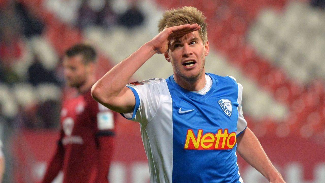 VfL Bochum 2014 - 2016, 72 Spiele, 47 Tore - Bildquelle: imago/Eibner