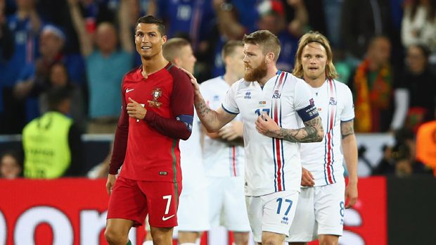 Portugal vs. Island - Bildquelle: 2016 Getty Images