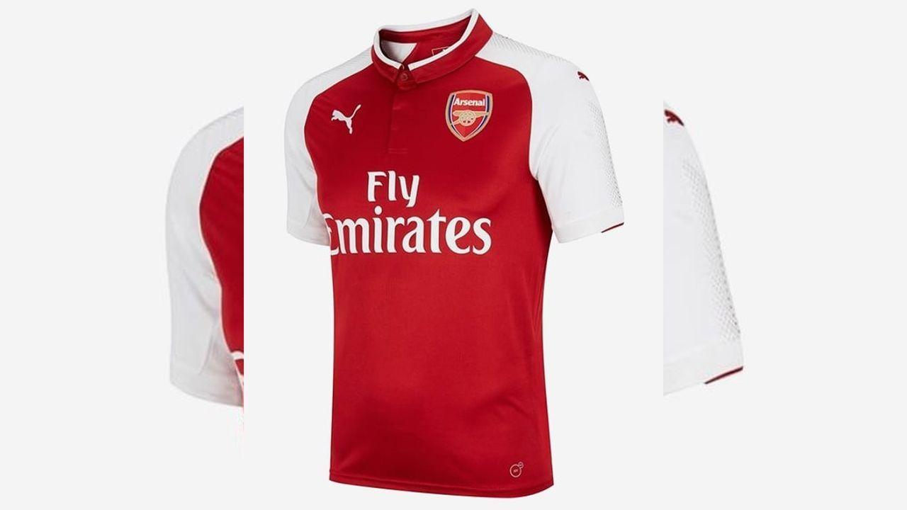 FC Arsenal (Heimtrikot) - Bildquelle: twitter@Footy_Headlines