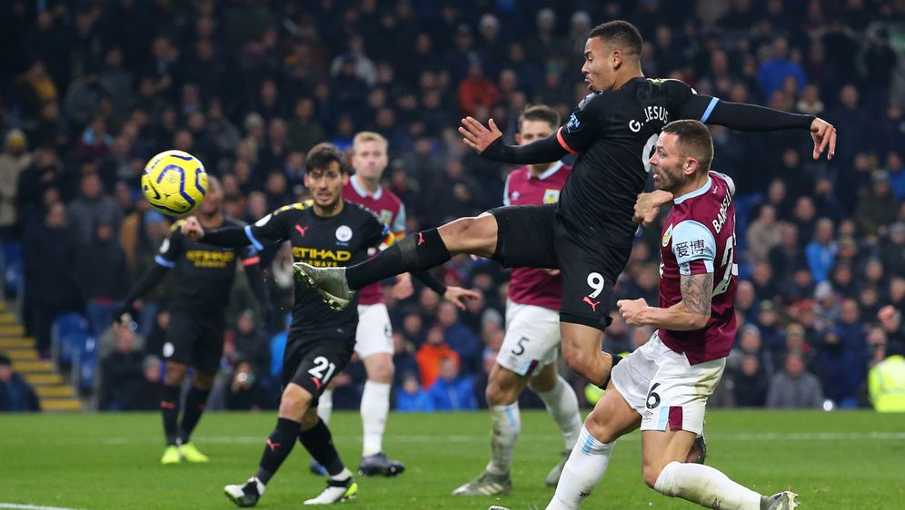 Doppelpack gegen Burnley: Manchesters Gabriel Jesus - Bildquelle: Getty Images