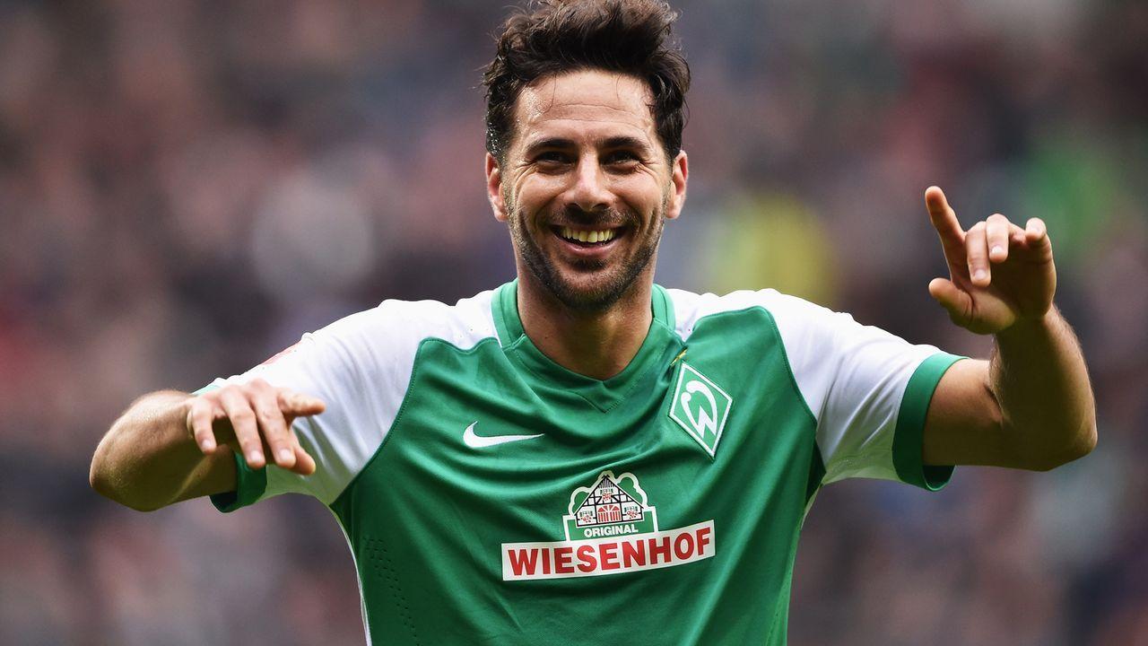 Claudio Pizarro Zugang Werder Bremen) - Bildquelle: 2016 Getty Images