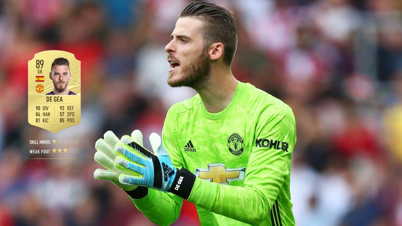 11. David de Gea (Manchester United)  - Bildquelle: 2019 Getty Images