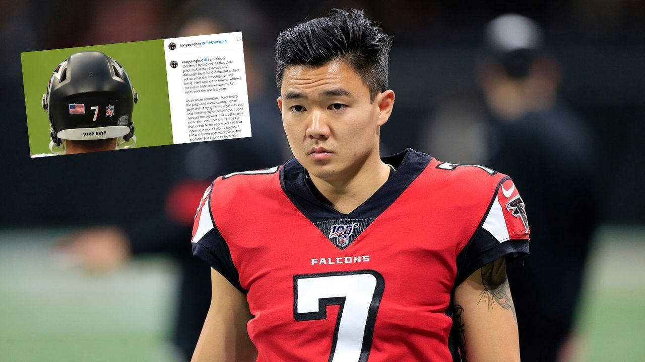 Falcons-Kicker mit Statement gegen Diskriminierung - Bildquelle: Imago Images/Instagram @kooyounghoe