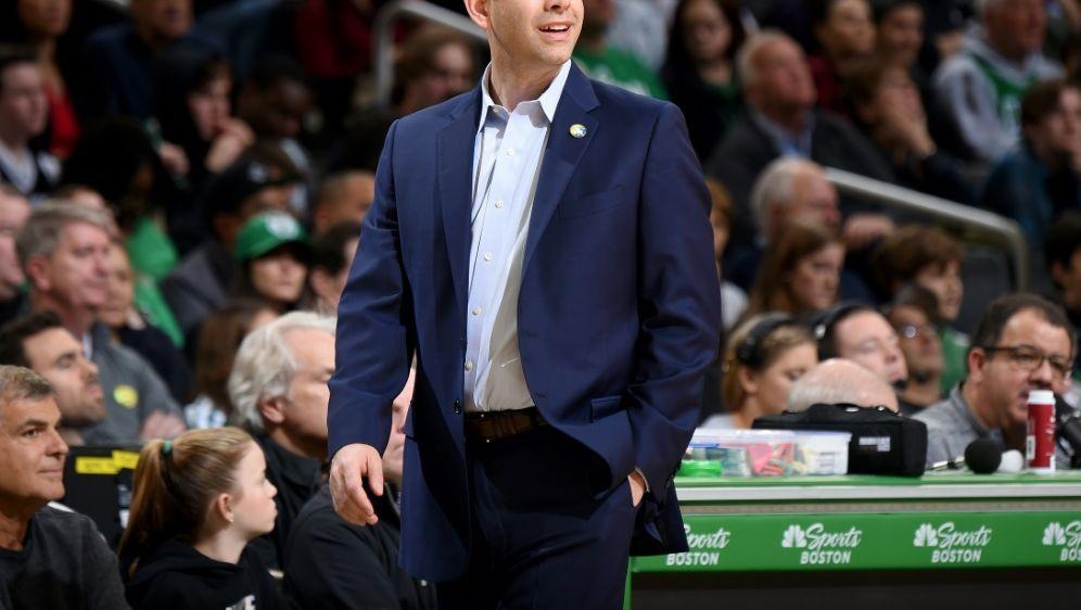 Brad Stevens ist seit 2013 Trainer der Boston Celtics - Bildquelle: NBAE  Getty Images  AFPSIDBrian Babineau