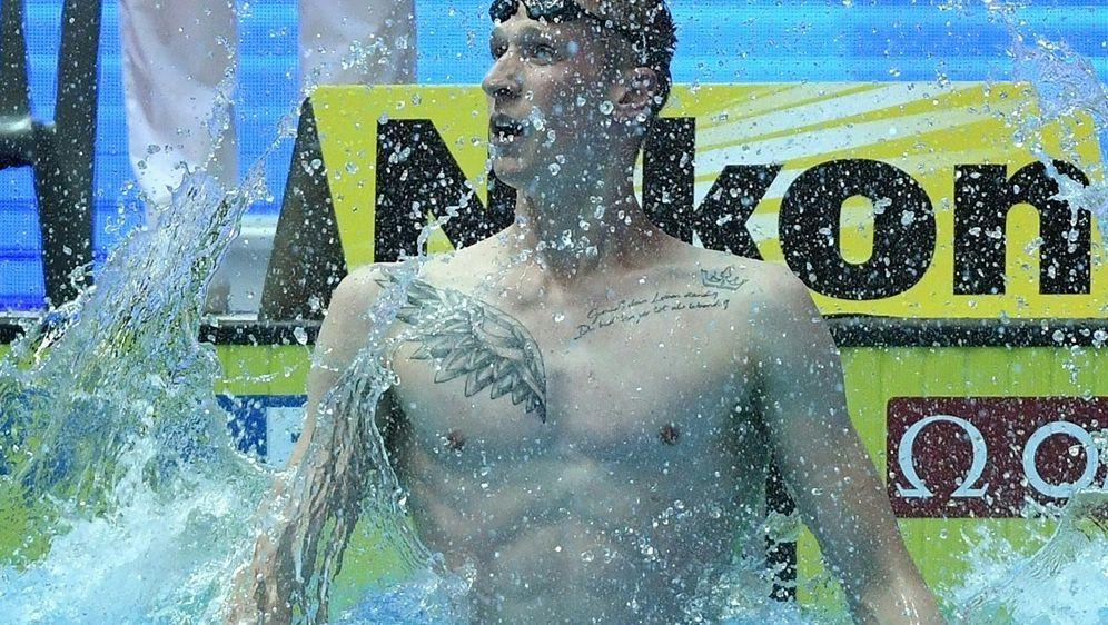 400 m Freistil: Florian Wellbrock auf Rang zwei - Bildquelle: AFPSIDMANAN VATSYAYANA