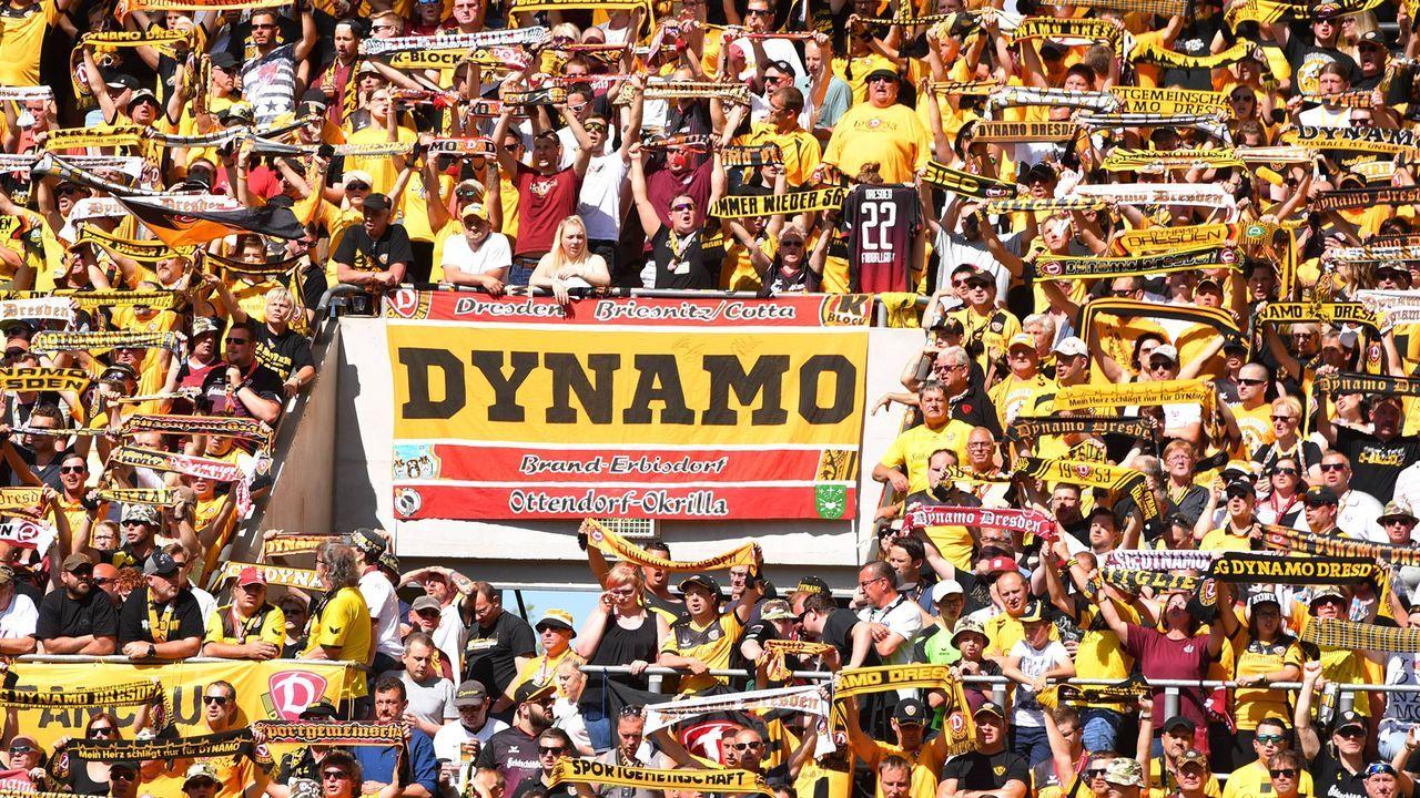 SG Dynamo Dresden - Bildquelle: imago/Hentschel