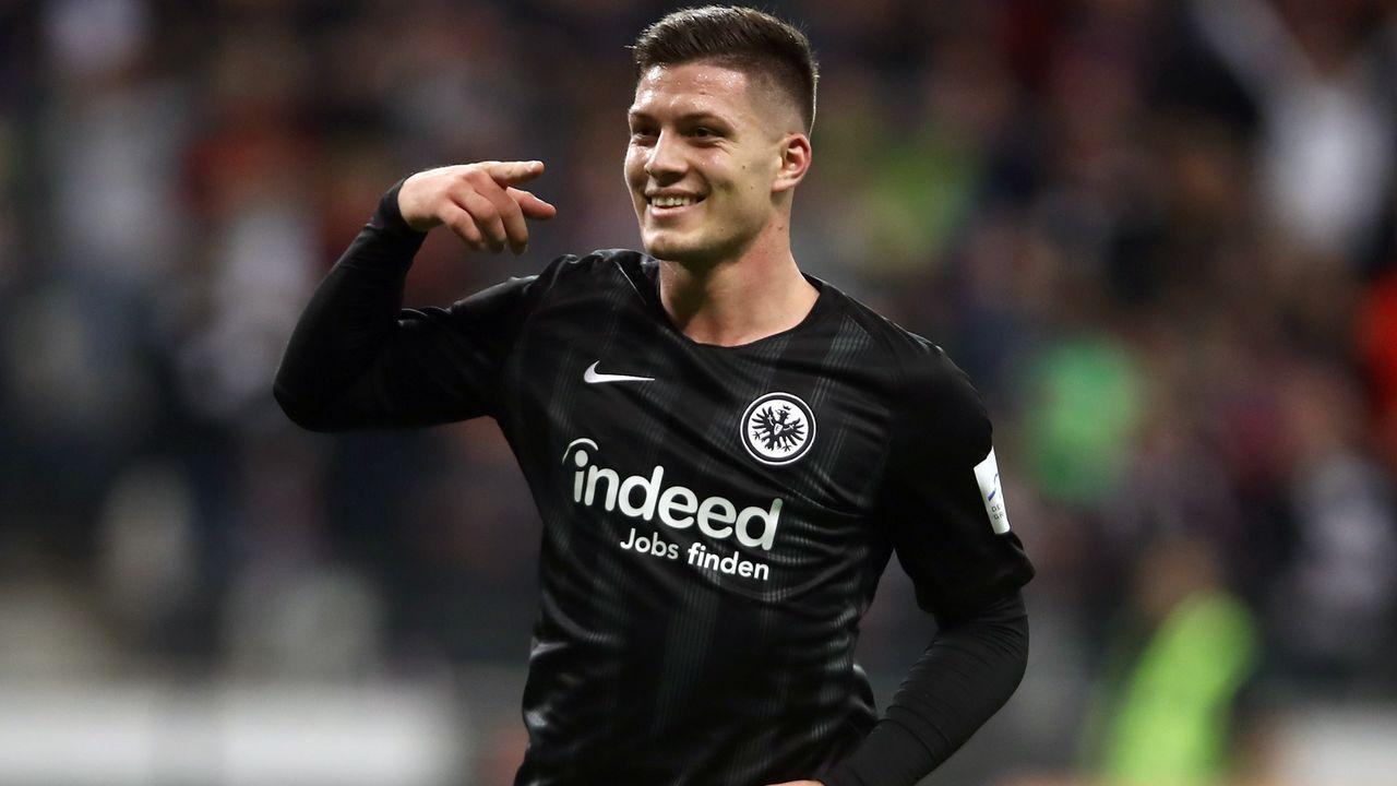 Platz 1 - Luka Jovic (Eintracht Frankfurt) - Bildquelle: 2018 Getty Images