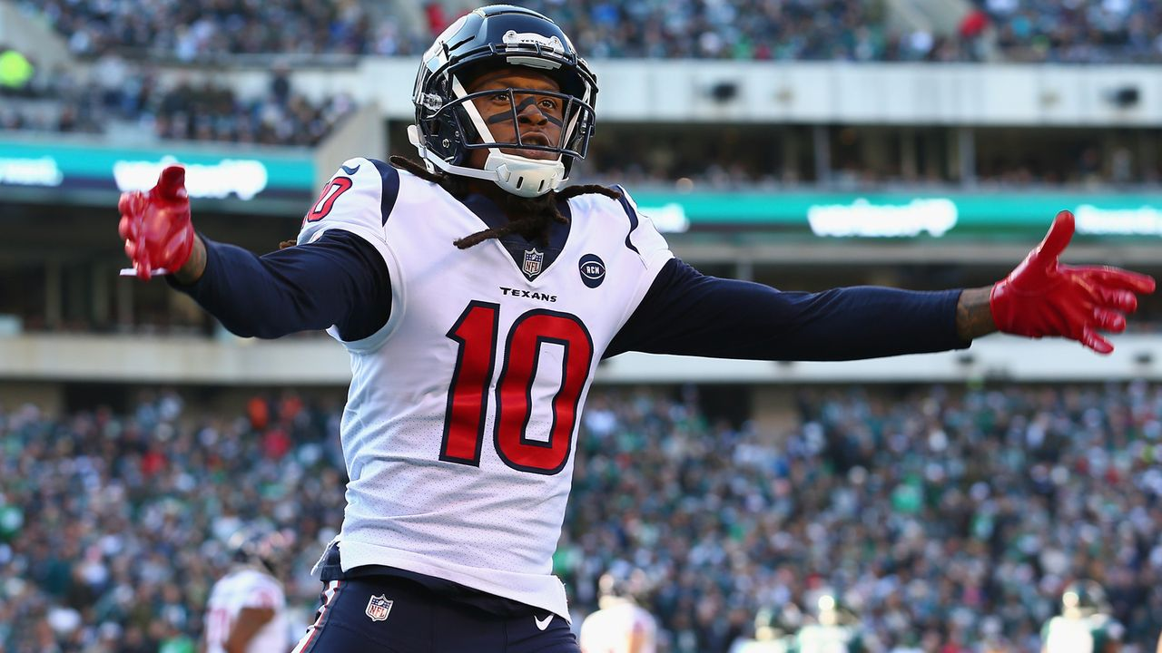 9. DeAndre Hopkins (Wide Receiver, Houston Texans), PFF Grade 92,0 - Bildquelle: 2018 Getty Images