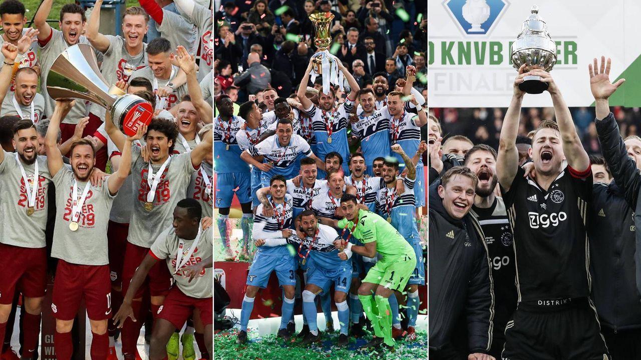 Europas Pokalsieger der Saison 2018/19 - Bildquelle: imago/getty