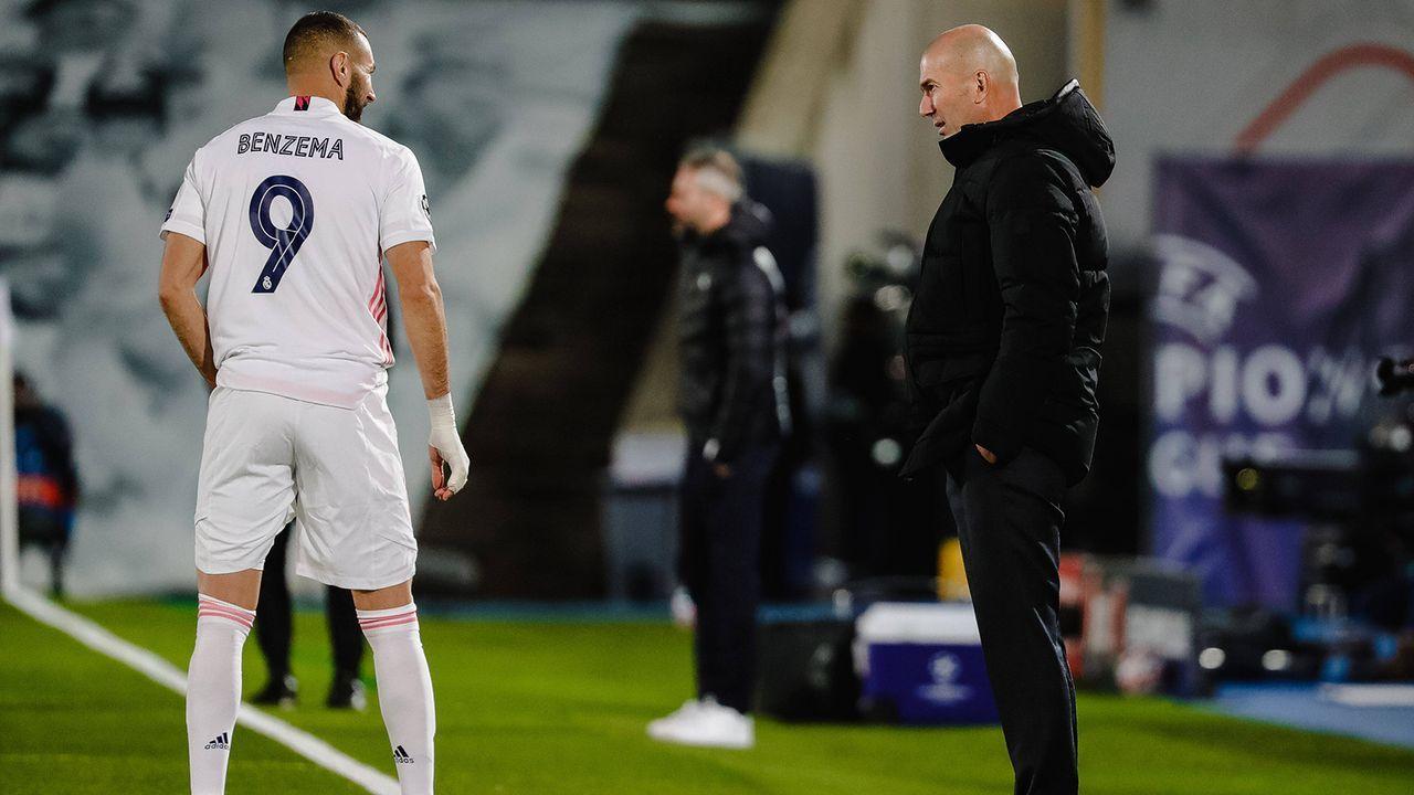 Zidane gewinnt sein Endspiel gegen Gladbach - Bildquelle: Imago Images