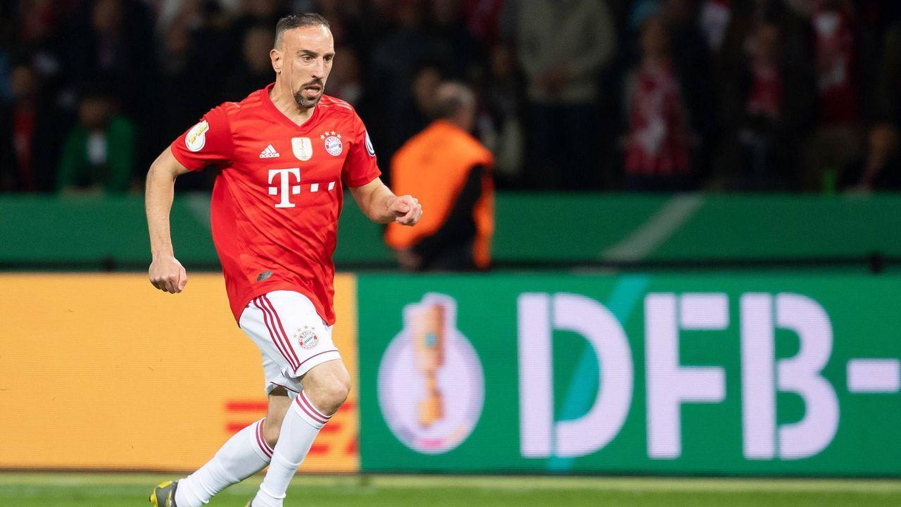 7. These: Ribery kehrt in der Winterpause zurück - Bildquelle: imago images / DeFodi