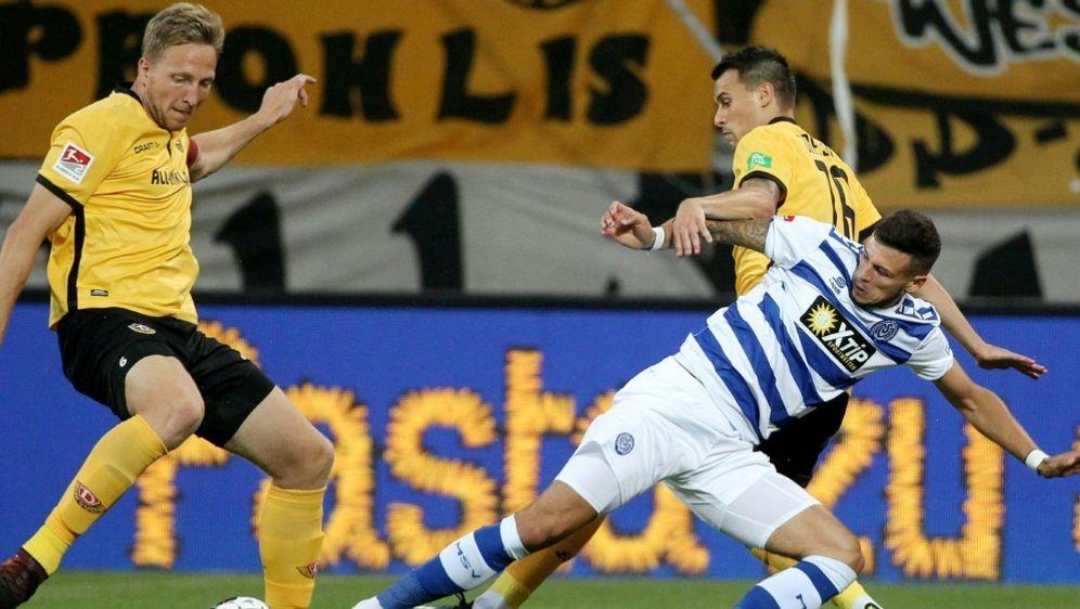 Hartmann (l.) geht in seine achte Saison mit Dynamo - Bildquelle: FIROFIROSID
