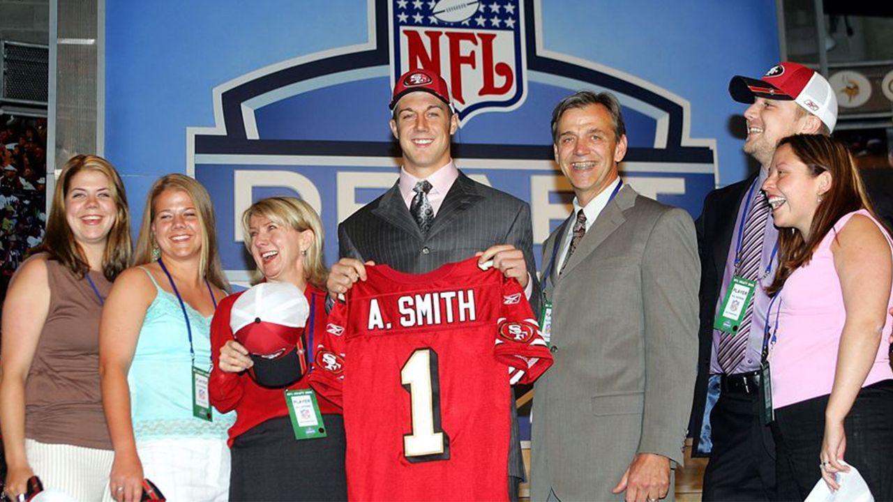 NFL Draft 2005: Alex Smith - Bildquelle: 2005 Getty Images