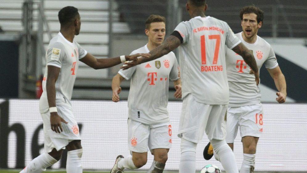 Bayern ist Favorit gegen Lazio - Bildquelle: AFPPOOLSIDDANIEL ROLAND