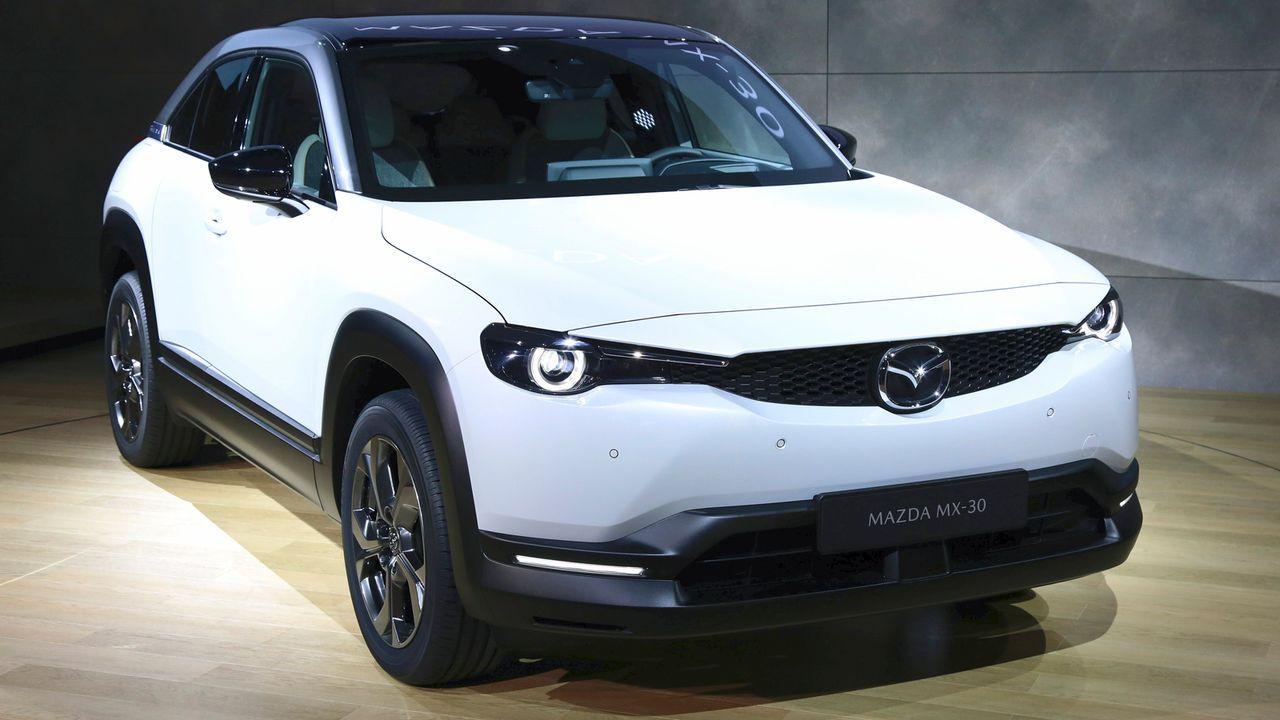 Mazda MX30 - Bildquelle: imago images/Future Image