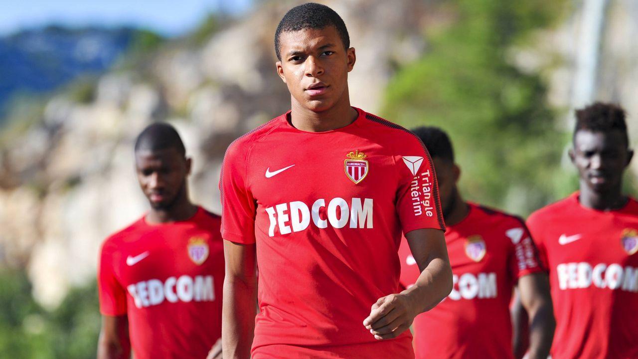 Platz 2: AS Monaco - Bildquelle: imago