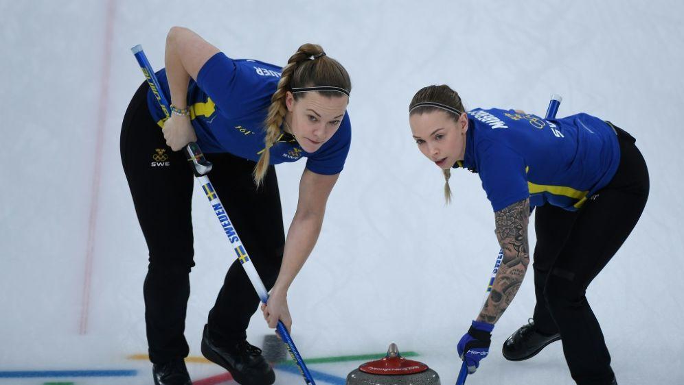 Auch im WM-Finale: Olympia-Sieger Schweden - Bildquelle: AFPAFPWANG Zhao