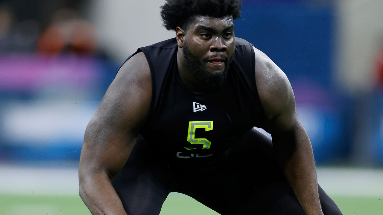 11 New York Jets: Mekhi Becton - Bildquelle: Getty Images