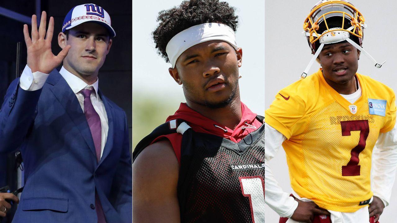 """""""Intelligent, aggressiv, Kanone"""": Feedback für die Top-Quarterbacks aus dem Draft - Bildquelle: imago"""