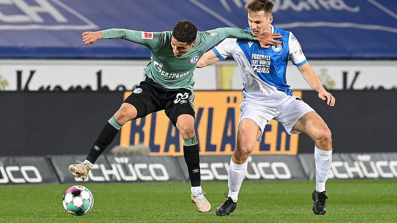 20. April 2021: Fix! Schalke 04 steigt ab - Bildquelle: imago images/Ulrich Hufnagel