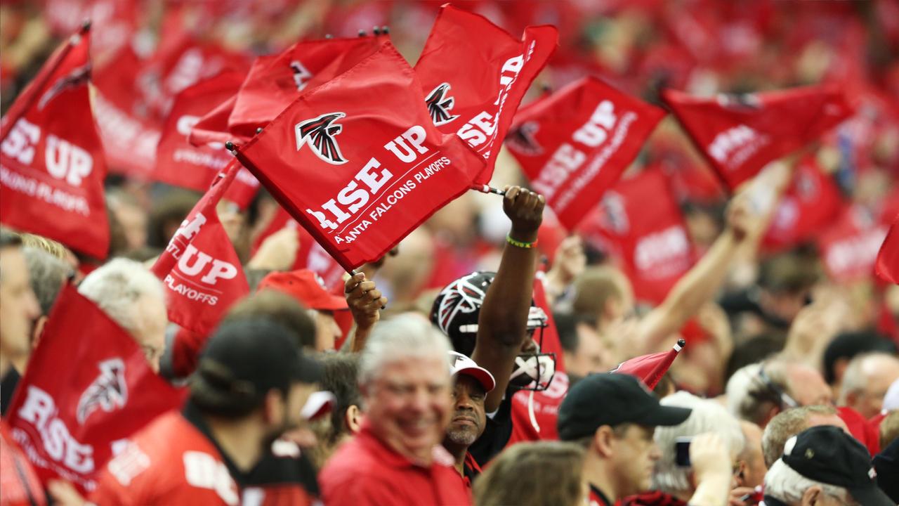 Platz 18: Atlanta Falcons - Bildquelle: Getty Images
