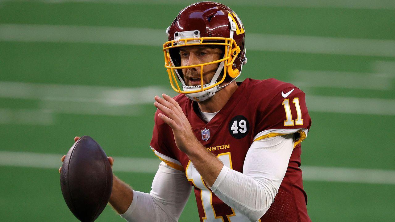 Geteilter 18. Platz: Alex Smith (Quarterback, Washington Football Team) - Bildquelle: Getty Images