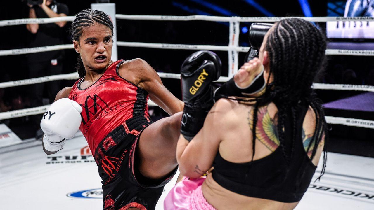 Anissa Meksen (FRA), Bantamgewicht (-56 Kilo) - Bildquelle: Glory