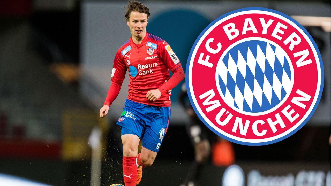 Alex Timossi Andersson (Zugang FC Bayern München) - Bildquelle: imago
