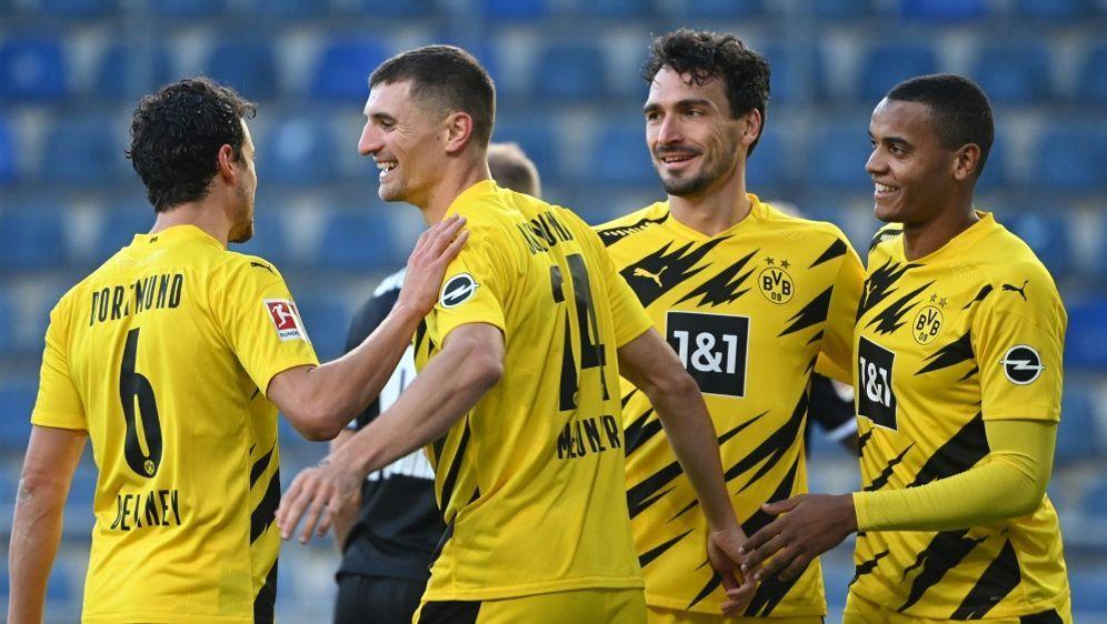 Dortmund siegt gegen Bielefeld - Bildquelle: AFPSIDINA FASSBENDER